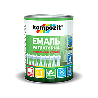 Эмаль акриловая радиаторная Kompozit 0.75 л