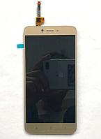 Оригинальный дисплей (модуль) + тачскрин (сенсор) для Xiaomi Redmi 4X | 4X Pro (золотой цвет)