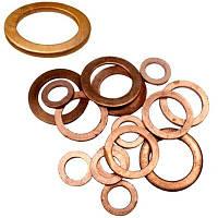 Уплотнительное кольцо медное 10x16x1,5