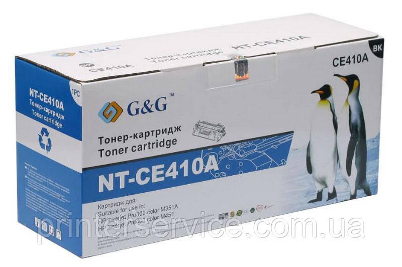 Картридж аналог HP CE410A Black для HP M351/ M375, M451/ M475 (G&G NT-CE410A)