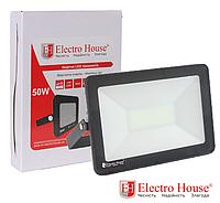 Прожектор светодиодный 50W 5000lm ElectroHouse холодный белый