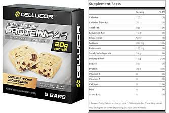 Cellucor, Батончики, Cookie Dough, 5 шт (12.17)