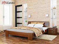 Кровать Титан тм Эстелла Массив бука, 120х190/200, №105 Ольха