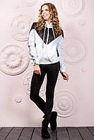 Женская курточка-ветровка с капюшоном