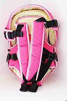 Рюкзак кенгуру переноска три положения Womar #8 Розовый