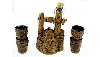 Подарочный винный набор Колодец, 5 предметов, производство Украина, 503185348