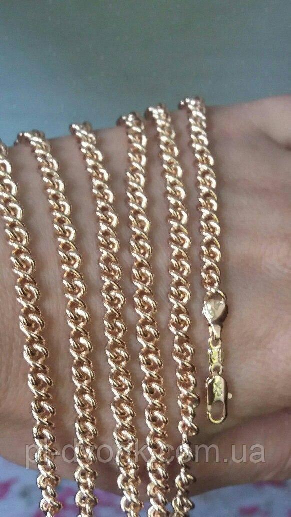 Красивая цепь длина 50 см 250 гр