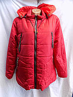 Женская куртка весна/осень большой размер