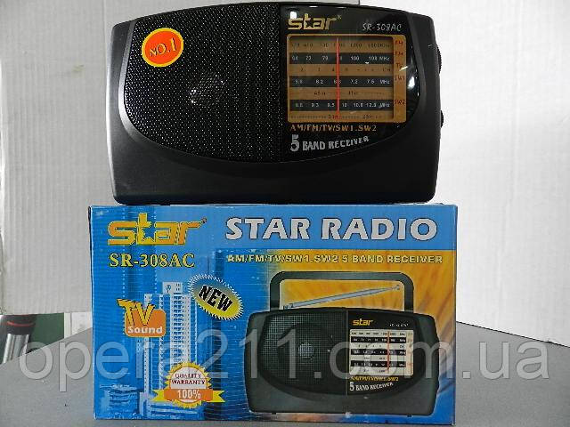 Радиоприемник STAR SR-308AC