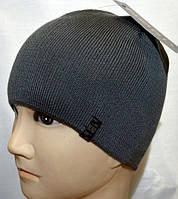Зимняя мужская шапка вязаная