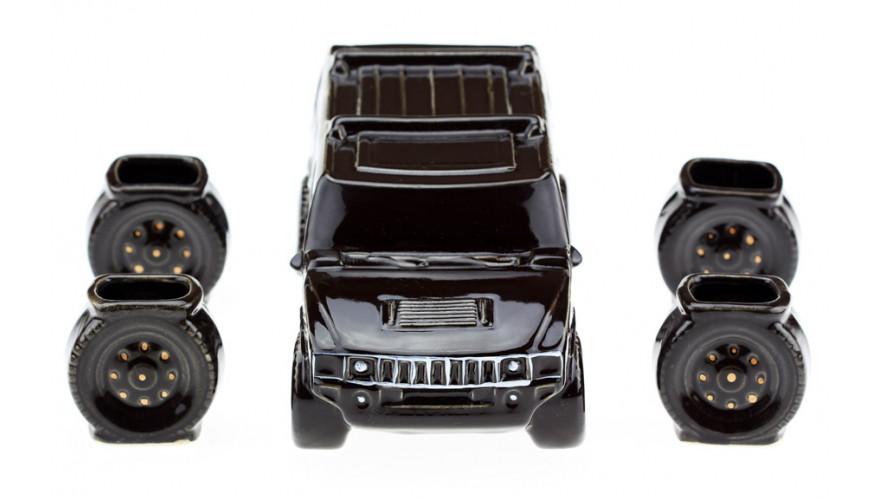 Подарочный набор 33 wishes Hummer (Хаммер) черный, 5 предметов (KE42)