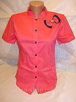 Рубашка женская с бантиком, фото 1