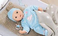 Интерактивная кукла Беби Анабель мальчик Baby Annabell Zapf Creation 794654