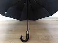 Мужской черный зонт автомат 1742