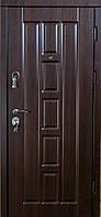 Двери входные Турин Темный орех