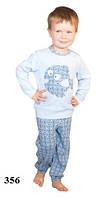Пижама детская для мальчика WIKTORIA W356 голубой