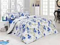 Полуторный комплект постельного белья First Choice Montana Mavi