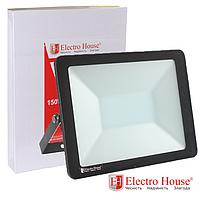 Прожектор светодиодный 150W 15000lm ElectroHouse холодный белый