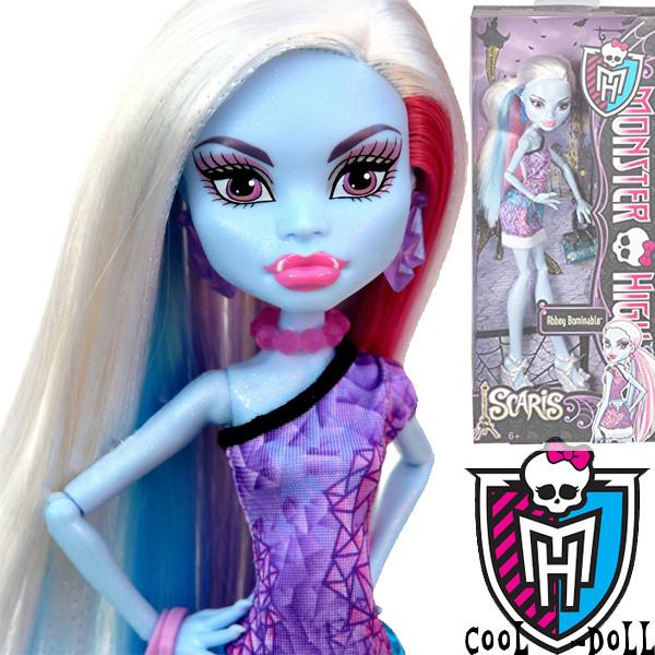 Кукла Монстер Хай Эбби Боминейбл Скариж Город страхов Monster High Abbey Bominable Scaris City of Frights