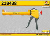 Пистолет для герметиков пластмассовый,  TOPEX  21B438, фото 1