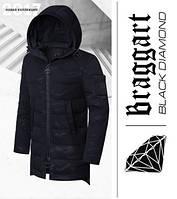 Braggart 'Black Diamond' 9098 | Зимняя парка мужская черная