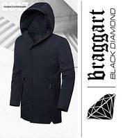 Braggart 'Black Diamond' 9019 | Парка зимняя черная