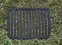 Чугунная решетка-гриль для мангала