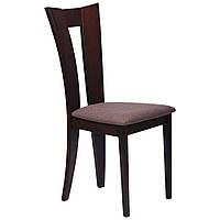 Обеденный стул Бристоль СВ-3980YBH орех темный/ткань коричн.