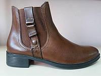 Ботинки женские кожаные демисезонные Foreva (Португалия) 36,37 размер