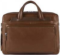 Коричневый кожаный портфель для мужчин Piquadro IGUAZU/Brown, CA3147S88_M