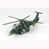 Модель Военный вертолет Технопарк SL362-2-SB