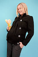 Демисезонное пальто для беременных, размер 44