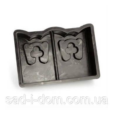 """Форма """"Бордюрный камень"""" 30*19*7 см, форма для бордюра, садовый бордюр, бордюр для клумбы"""