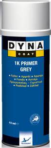 Грунт автомобильный Dyna Coat 1K Primer Grey аерозоль 0.4л