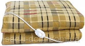 Электроодеяло двухспальное, электрическое одеяло, электропростынь 155*157 см