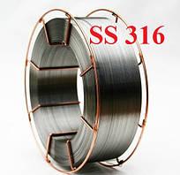 Проволока нержавеющая SS 316 ф0,1 мм