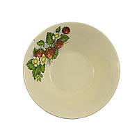 Тарелка - салатник керамическая глубокая 0,5л Украина