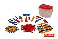 Игровой набор инструментов  132 эл. Wader 47175
