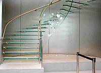 Стеклянные лестницы ЛЮБОЙ СЛОЖНОСТИ
