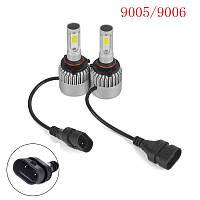 Светодиодная LED лампа головного света 9005 HB3 COB 8000Lm 36Watt