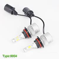 Светодиодная LED лампа головного света 9007 HB5 COB 8000Lm 36Watt, фото 1