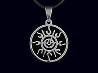"""Кулон """"Солнце"""" Древнейший символ созидательной энергии. Солярный знак жизни и света, дарующий изобилие."""