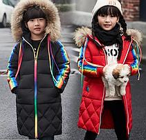 Пуховики, куртки, шубки для мальчиков и девочек