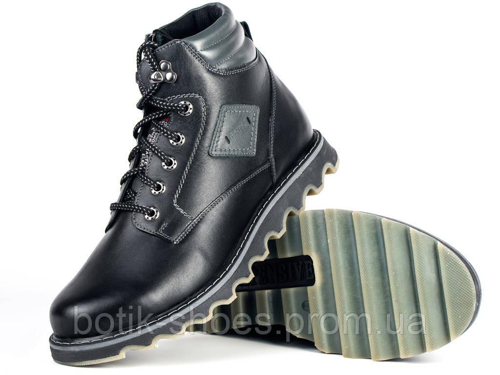 912363b10 Ботинки мужские кожаные Мида 14725-1 черные в Украине - интернет ...