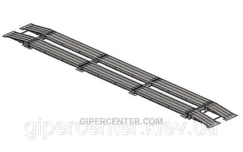 Весы автомобильные безфундаментные Axis 60-24 К (10 датчиков) до 60 тонн, стандарт