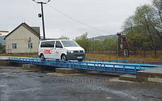 Весы автомобильные безфундаментные Axis 60-24 К (10 датчиков) до 60 тонн, стандарт, фото 2