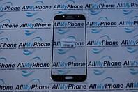 Стекло корпуса для мобильного телефона Samsung J730 J7 2017 черное