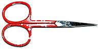 Ножницы маникюрные Zinger 113-004, заусеничные универсальные (красная ручка) 26_1_138a5