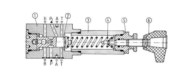 Редукционный клапан uzrc10x