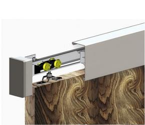 Маскировачная планка для систем Valcomp Herkules Wood  с заглушками и щеткой против пыли
